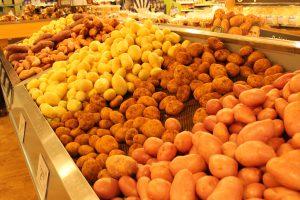 海外のスーパー 野菜売り場