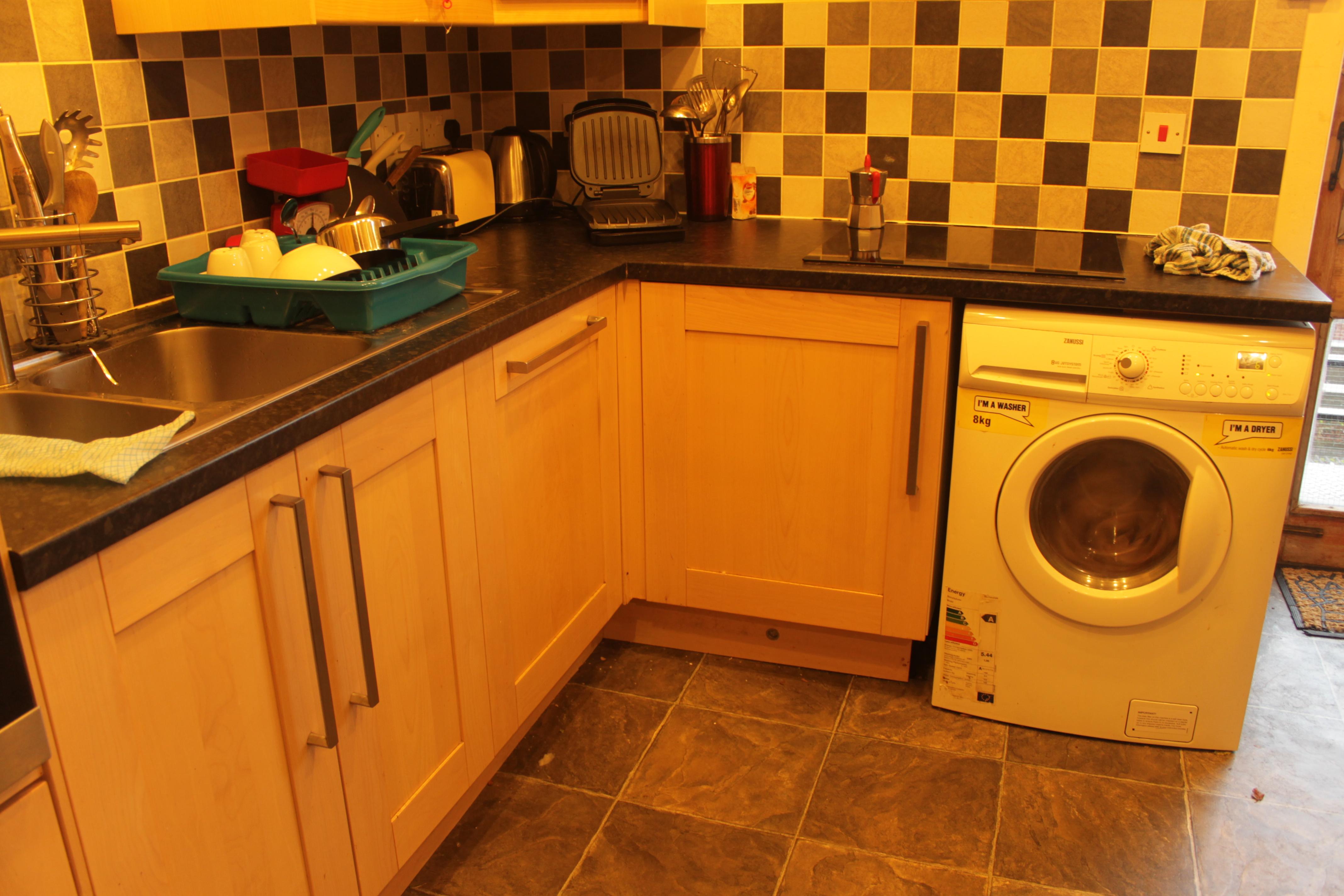 洗濯機 キッチン
