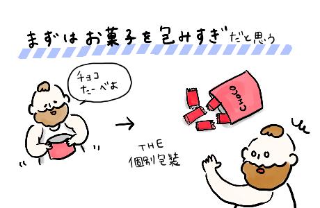 日本人包みすぎ2